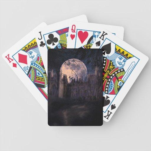 Tarjetas fantasmagóricas baraja de cartas