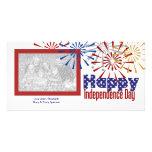Tarjetas felices de la foto del Día de la Independ Tarjetas Con Fotos Personalizadas