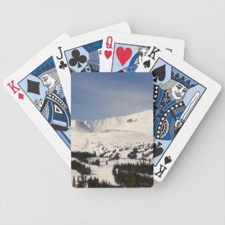 Tarjetas frescas barajas de cartas