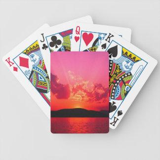 Tarjetas frescas de la cubierta que juegan cartas de juego