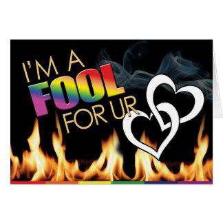 Tarjetas gay - amor del tonto 4