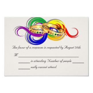 Tarjetas gay de encargo de RSVP que se casan, Anuncio