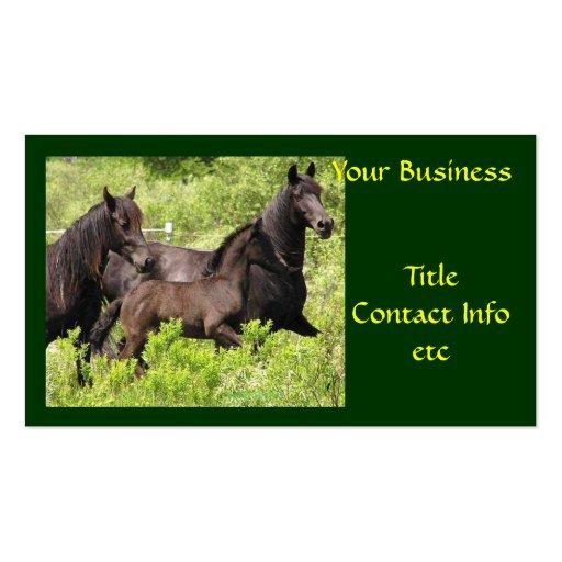 Tarjetas, granja y rancho adaptables de visita tarjeta de visita