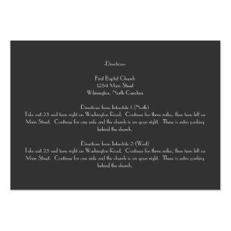 Tarjetas grises modernas del parte movible de las plantillas de tarjetas de visita