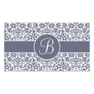 Tarjetas grises y blancas del registro de regalos tarjetas de visita