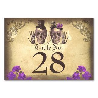 Tarjetas hermosas mortales de la tabla de los pare