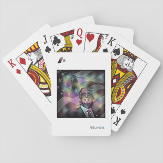 Tarjetas inteligentes de Donald Trump Cartas De Póquer