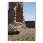Tarjetas italianas, baños Roma de Domitianic