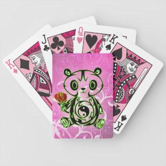 tarjetas japonesas del juego del oso de panda baraja