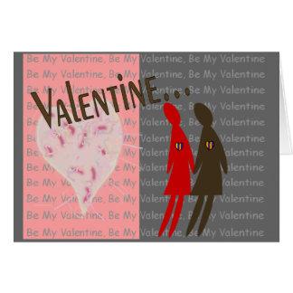 Tarjetas lesbianas de la tarjeta del día de San Va