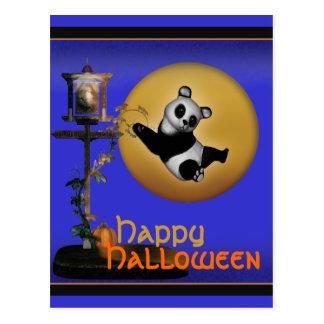 Tarjetas lindas de Halloween del dibujo animado Postales