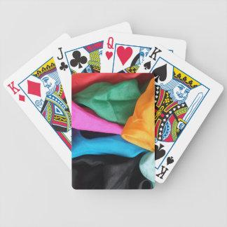 Tarjetas mágicas: Mezcla del color de telas de Baraja De Cartas