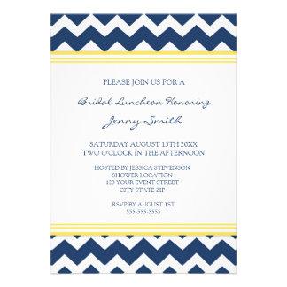 Tarjetas nupciales azules de la invitación del alm