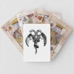 tarjetas oscuras del póker de los artes cartas de juego