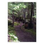 tarjetas pacíficas del rastro de Oregon