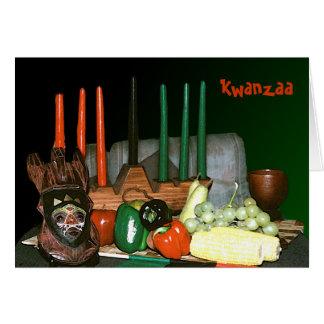 Tarjetas personalizadas de Kwanzaa