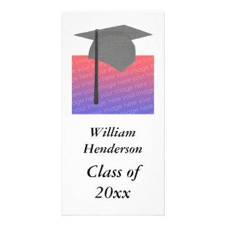 Tarjetas personalizadas de la foto de la graduació tarjetas personales