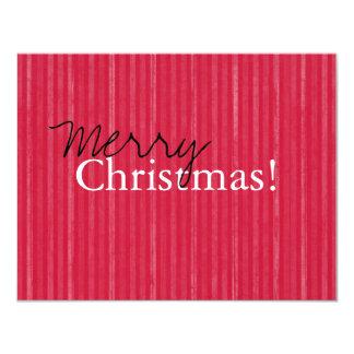 Tarjetas planas de las Felices Navidad del vintage Comunicado