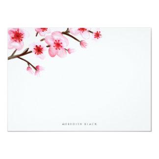 Tarjetas planas pintadas de los efectos de invitación 11,4 x 15,8 cm