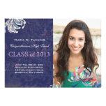Tarjetas preciosas 2013 de la graduación de la fot invitacion personal