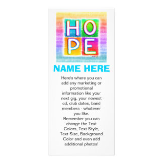 Tarjetas promocionales del estante - arte pop de l tarjeta publicitaria personalizada