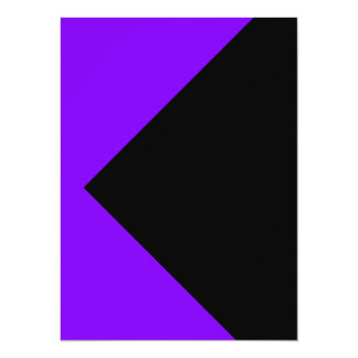 Tarjetas púrpuras calientes de las invitaciones de invitación 13,9 x 19,0 cm