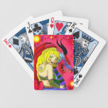 tarjetas que juegan barajas de cartas