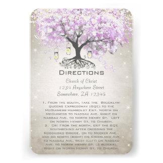 Tarjetas radiantees de la dirección del boda de la comunicados personales