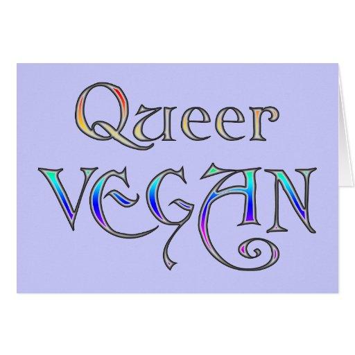 Tarjetas raras del vegano