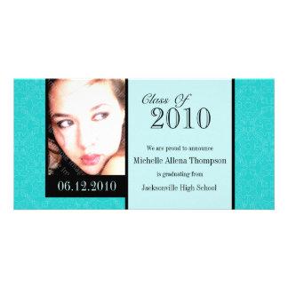 Tarjetas reales de la foto de la invitación de la tarjetas fotograficas