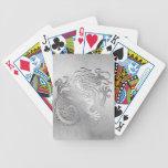 Tarjetas reales del juego del dragón del oro - 1C  Baraja