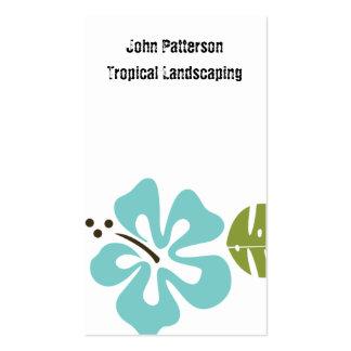 Tarjetas retras de la selva tarjeta personal
