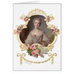 Tarjetas rosadas jovenes de los rosas de la reina
