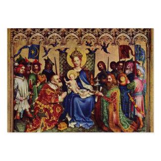 Tarjetas santas (cita): Peregrinaje interior Plantilla De Tarjeta De Negocio