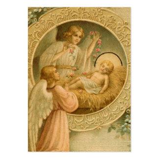 Tarjetas santas (espacio en blanco/personalizado): tarjetas de visita grandes