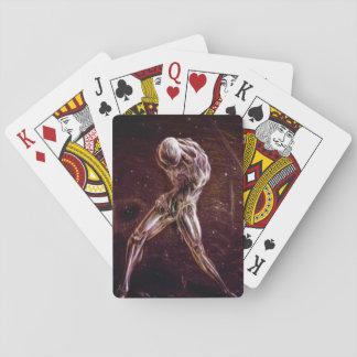 Tarjetas silenciosas de la colina cartas de póquer