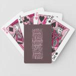 Tarjetas vivas, de la risa, del amor y del juego baraja cartas de poker