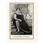 Tarjetas y postales de Colosse Tatouee del La