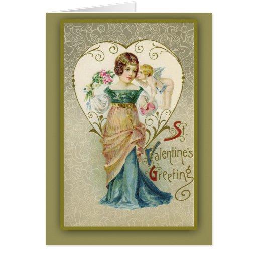 Tarjetas y postales de la tarjeta del día de San V