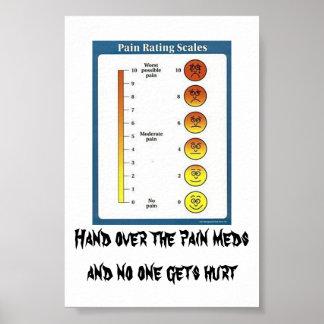 Tarjetas y posters de Meds del dolor