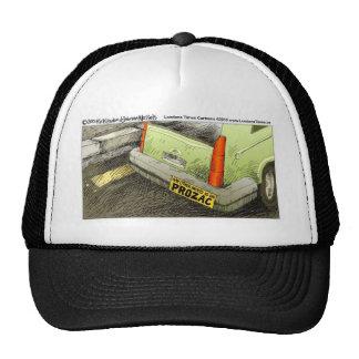 Tarjetas y regalos divertidos de las camisetas de gorras de camionero