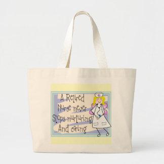 Tarjetas y regalos jubilados del arte del ángel de bolsas de mano