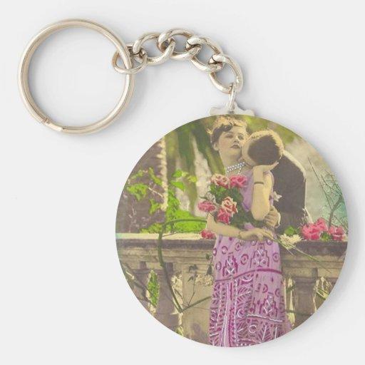 Tarjetas y regalos románticos - aleta de los pares llavero personalizado