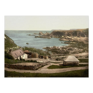 Tarlair, Macduff, Aberdeenshire, Scotland Poster