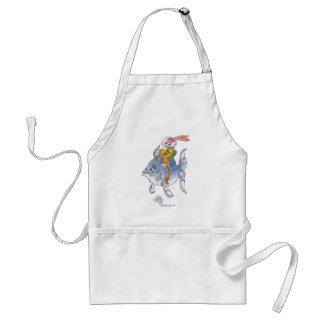 Tarlervins_Sea_Quest_on an apron. Adult Apron
