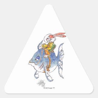 Tarlervins_Sea_Quest_ Triangle Sticker