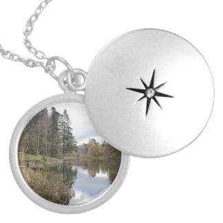 Tarn Hows, Cumbria Round Locket Necklace