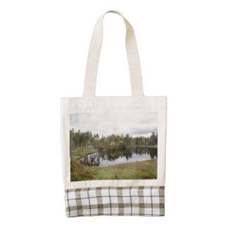 Tarn Hows, Lake District, Cumbria Zazzle HEART Tote Bag