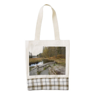 Tarn Hows, Lake District Zazzle HEART Tote Bag