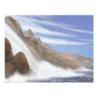 Tarnese Waterfall Postcard